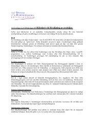 Anvisningar och förklaringar till Hälsokort vid försäljning av avelsdjur.