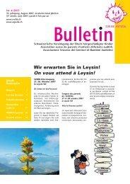 Bulletin Nr. 4 - SVEHK
