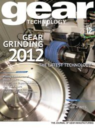 Download the October 2012 Issue in PDF format - Gear Technology ...