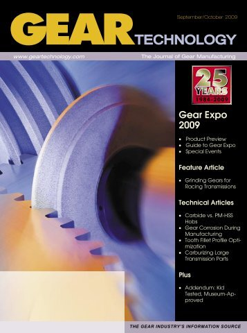 Download the September/October 2009 Issue in PDF format - Gear ...