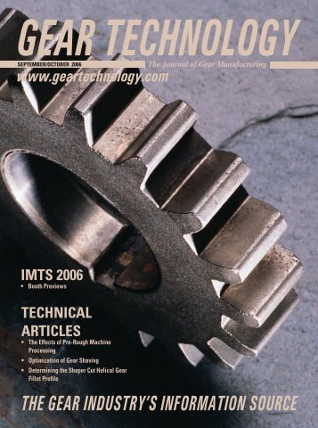 Download the September/October 2006 Issue in PDF format - Gear ...