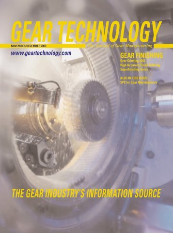 Download the November/December 2003 Issue in PDF format