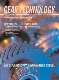 Download the September/October 2004 Issue in PDF format - Gear ...