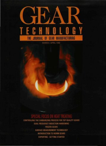Download PDF - Gear Technology magazine