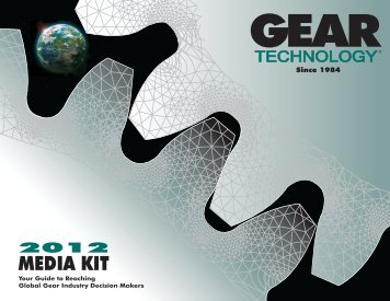 Download the 2012 Media Kit - Gear Technology magazine