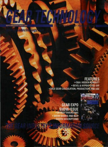Download the September/October 2001 Issue in PDF format - Gear ...