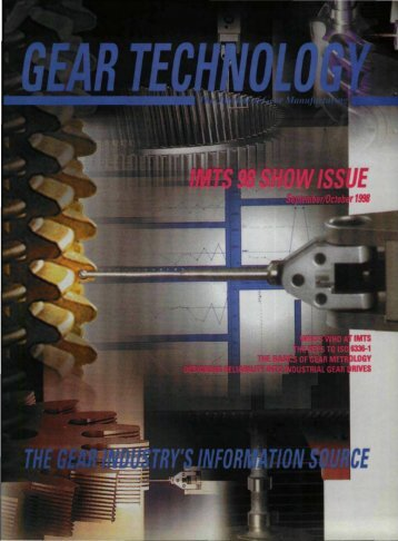 Download the September/October 1998 Issue in PDF format - Gear ...