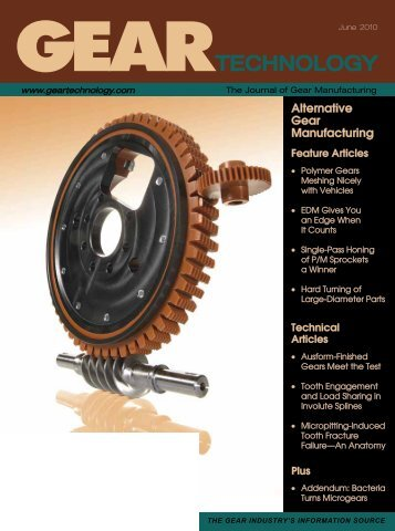 June 2010 - Gear Technology - Gear Technology magazine