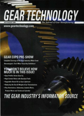 Download the July/August 2003 Issue in PDF format - Gear ...