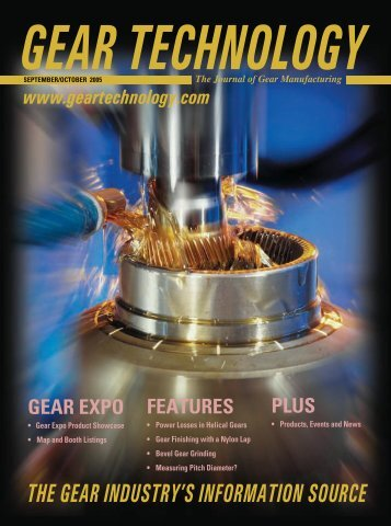 Download the September/October 2005 Issue in PDF format - Gear ...