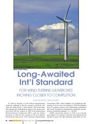 Long-Awaited Int'l Standard for Wind Turbine Gearboxes Inching ...