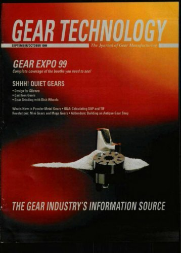 Download the September/October 1999 Issue in PDF format - Gear ...