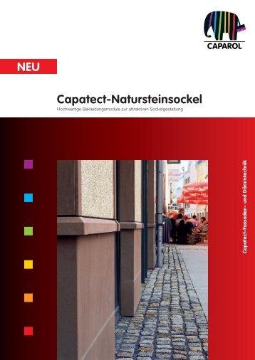 Capatect-Natursteinsockel NEU - Caparol