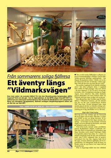 Längs den svensk-norska fjällkedjan 2007
