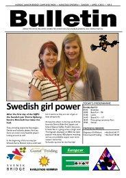 Swedish girl power - Förbundet Svensk Bridge