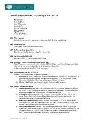 Protokoll styrelsemöte Växjöbridgen 2013-05-13 - Förbundet ...