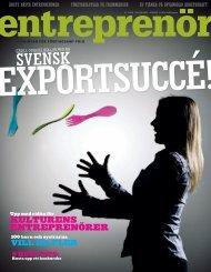 Entreprenör nr 1 2009 - Svenskt Näringsliv