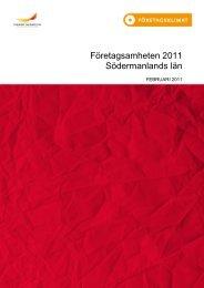 Företagsamheten Södermanland 2011-02 - Svenskt Näringsliv