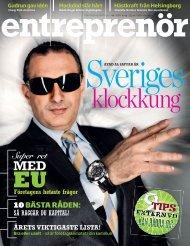 Entreprenör nr 4 2009 - Svenskt Näringsliv