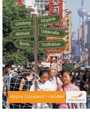 Västra Götaland i världen - Svenskt Näringsliv