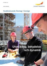 Snabbväxande företag i Sverige.pdf - Svenskt Näringsliv