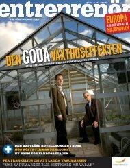 Entreprenör nr 4 2007 - Svenskt Näringsliv