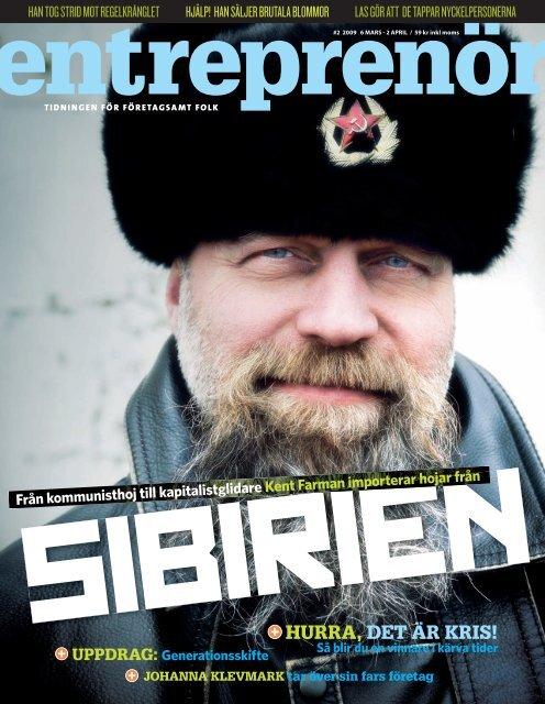 Entreprenör nr 2 2009 - Svenskt Näringsliv