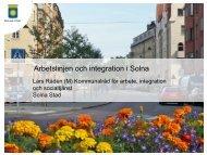 Presentation Solna stad 120328