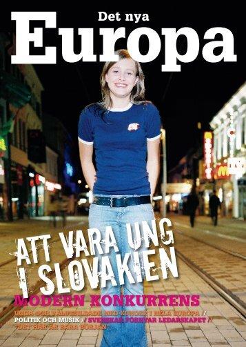 Det Nya Europa - Svenskt Näringsliv