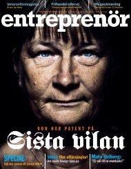 Entreprenör nr 7 2009 - Svenskt Näringsliv
