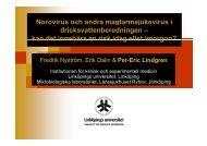 Lindgren, LU - Norovirus - Svenskt Vatten