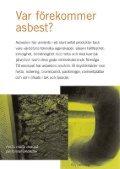 arbetsmiljö och asbest - Svenskt Vatten - Page 4