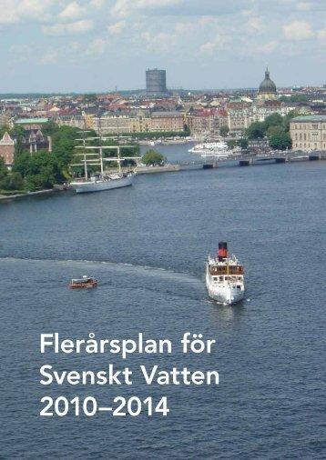 Flerårsplan för Svenskt Vatten 2010–2014