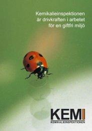 Informationsfolder KemI - Svenskt Vatten
