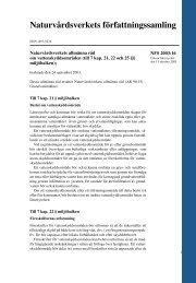 NFS 2003:16 - Naturvårdsverket