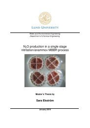 N2O production in a single stage nitritation/anammox MBBR process