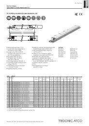 PC T5 PRO lp 24–80 W 220–240 V 50/60/0 Hz, HO T5, T8, TC-L