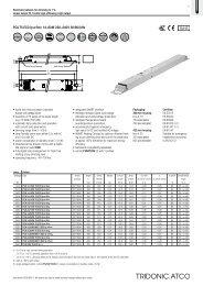 PCA T5 ECO lp 14–80 W 220–240 V 50/60/0 Hz