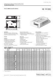 PC CFL COMBO 220–240 V 50/60 Hz