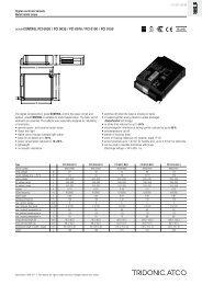 powerCONTROL PCI 0020 / PCI 0035 / PCI 0070 / PCI 0100 / PCI ...
