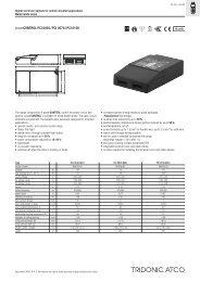 powerCONTROL PCI 0035 / PCI 0070 / PCI 0150