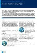Garantiebedingungen - Tridonic - Seite 2