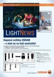 LightNews 06/2010 - Kapesní svítilny OSRAM