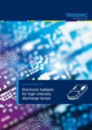 Electronic ballasts for high-intensity discharge lamps