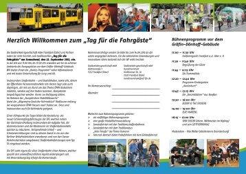 Tag für die Fahrgäste - bei der Stadtverkehrsgesellschaft mbH ...