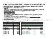 Tarife im Tarifbereich Frankfurt (Oder) - Stadtgebiet und Umland - ab ...