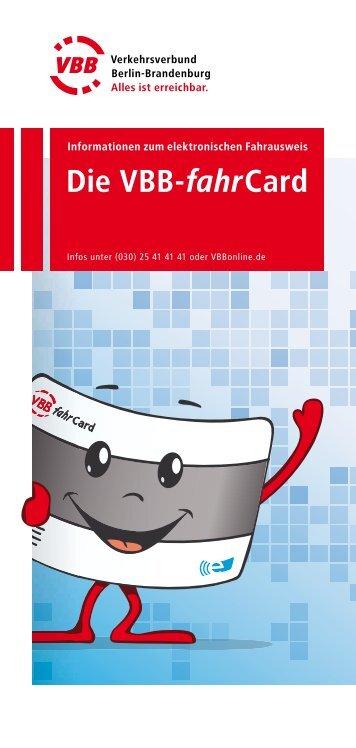 Die VBB-fahrCard - bei der Stadtverkehrsgesellschaft mbH Frankfurt ...