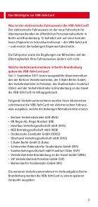 Häufig gestellte Fragen zur VBB-fahrCard - bei der ... - Page 3