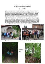 23. Landeswandertag in Freden 3. Juli 2011 - SVG Burgstemmen