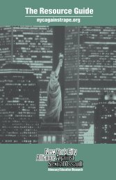 ResGuide.for pdf - The New York City Alliance Against Sexual Assault
